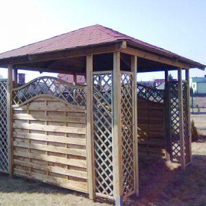 altana ogrodowa leszek Monero Ogrody 1