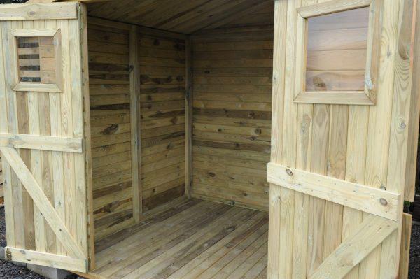 domek narzedziowy z drewutnia A 306 Monero Ogrody 4