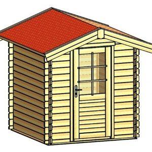 domek ogrodowy A 710 Monero Ogrody 1